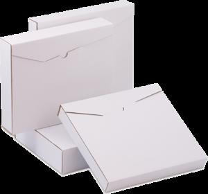 Blanco verzendverpakking uitgelicht