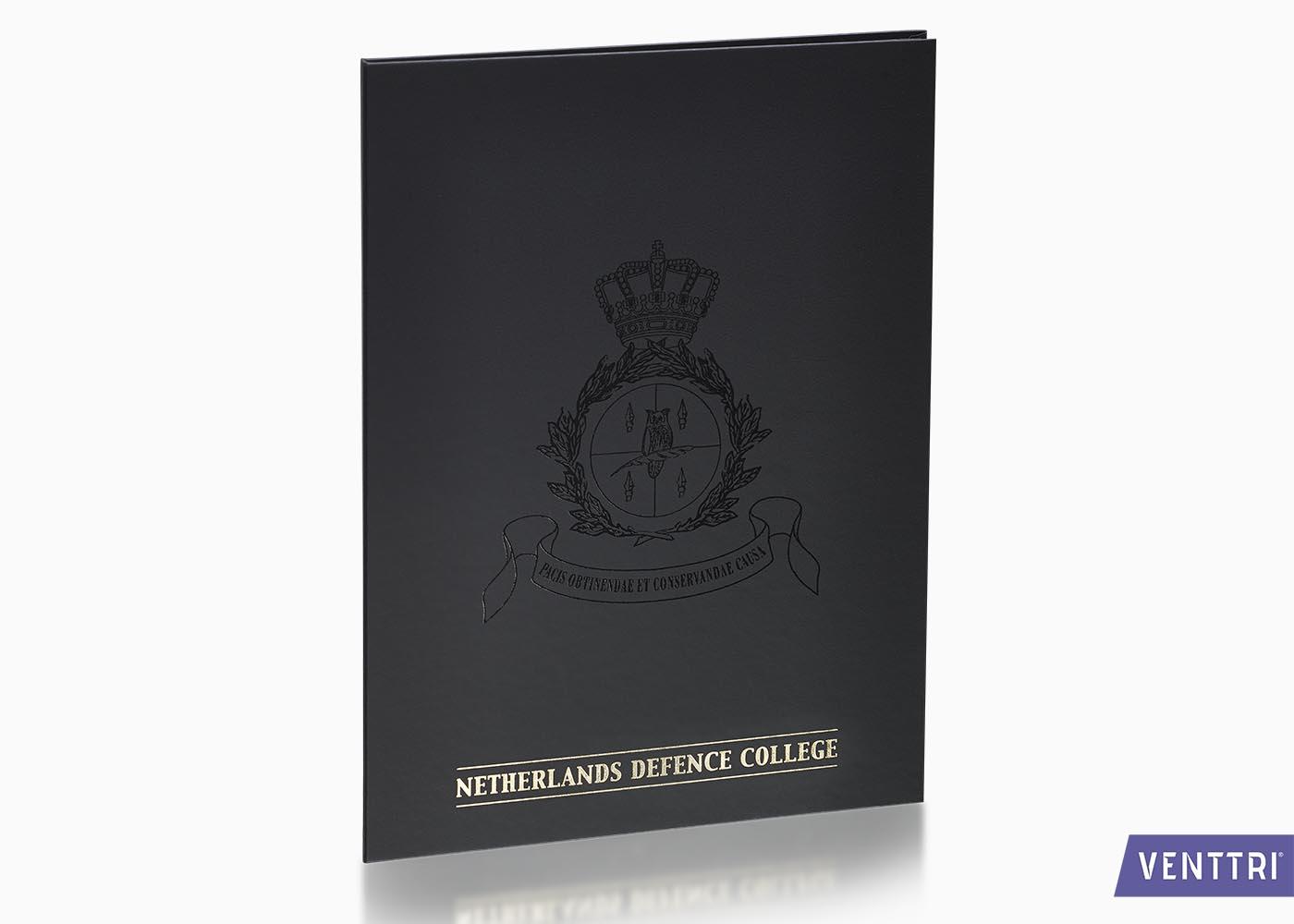 Luxe diplomamap zwart balacron 1