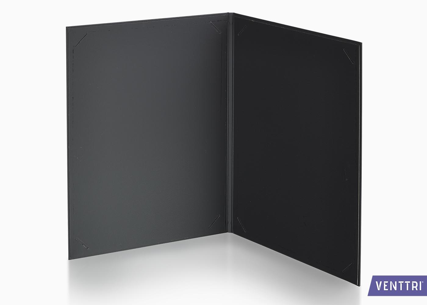 Luxe diplomamap zwart balacron 2