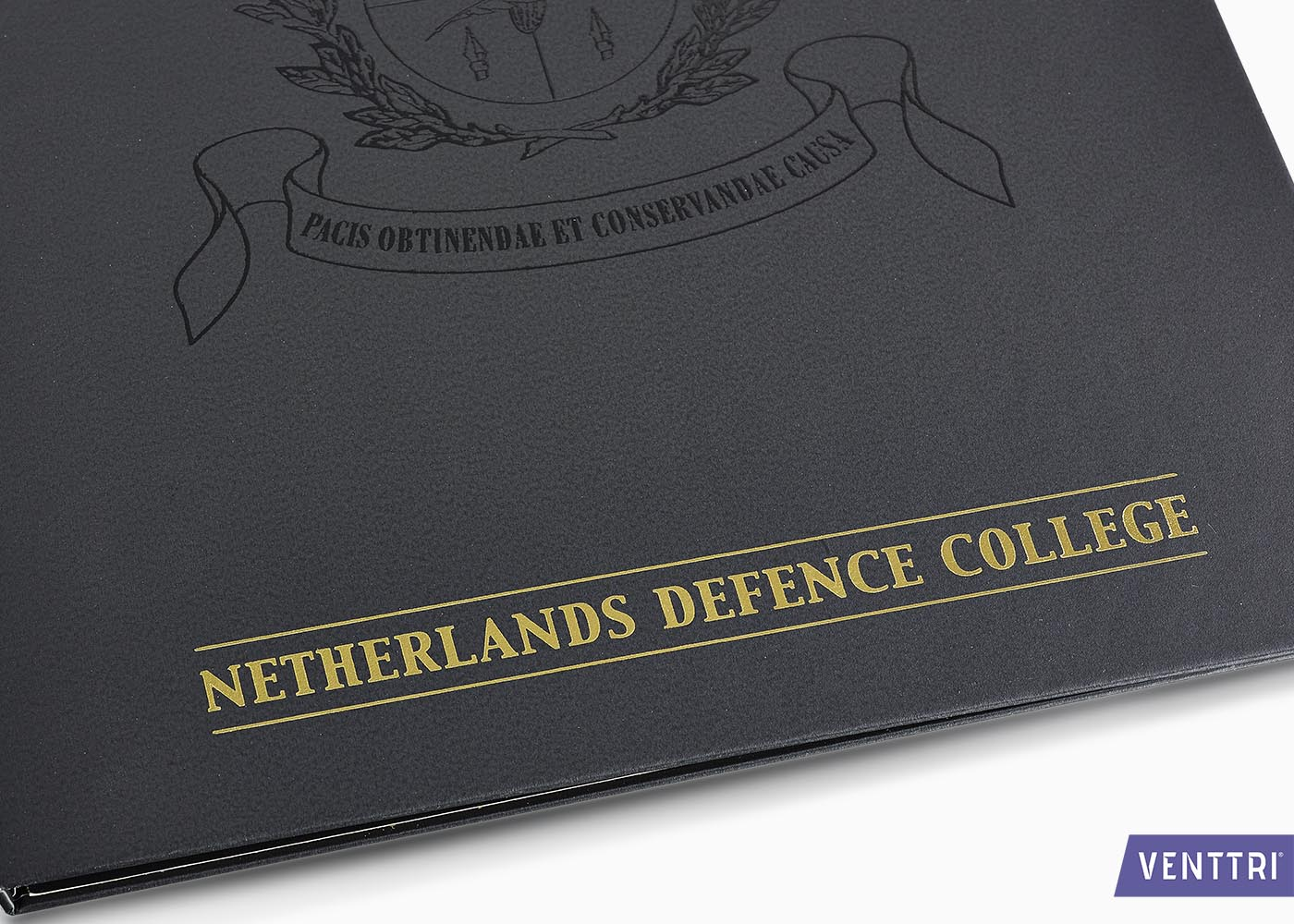 Luxe diplomamap zwart balacron 4
