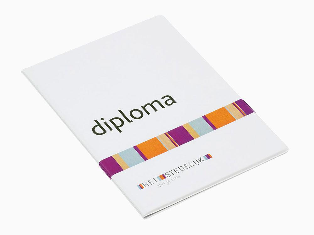 diplomamap Het Stedelijk PVC