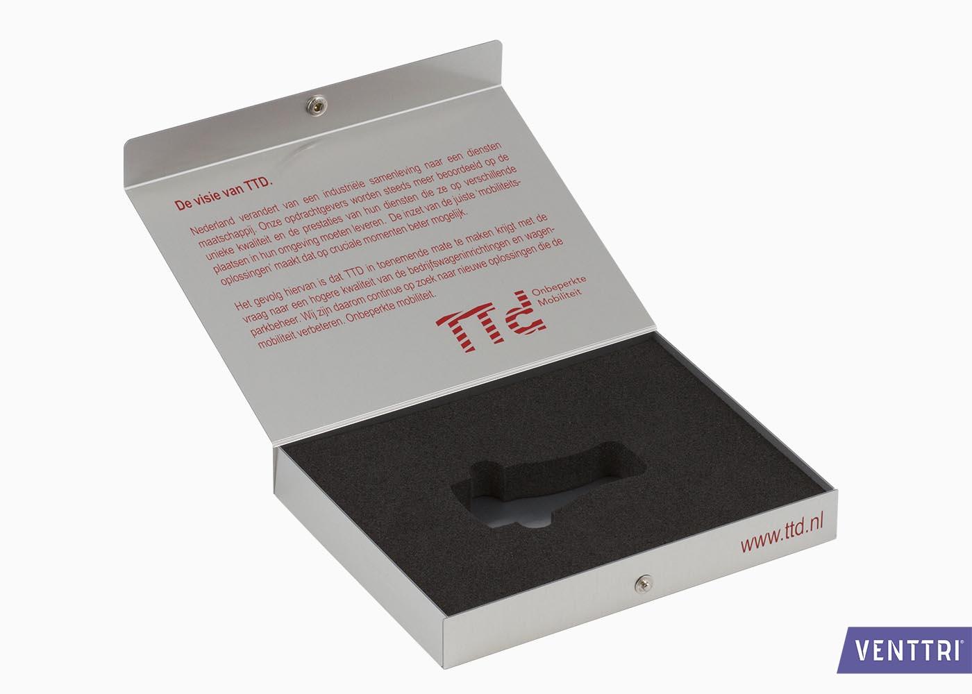 Presentatiebox aluminium 2