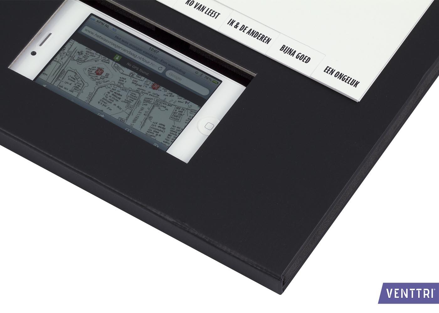 Presentatiemap met smartphonehouder 6