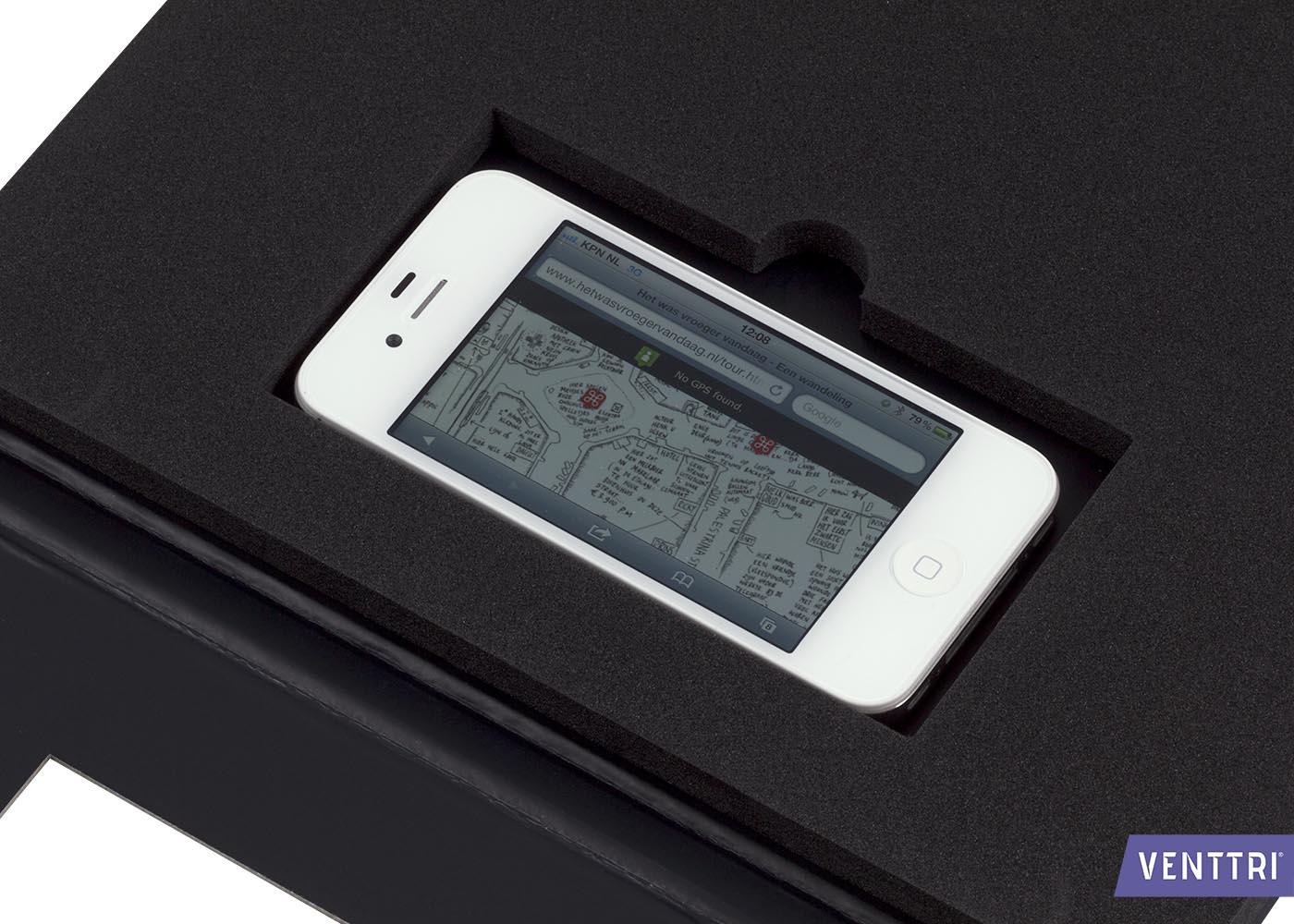 Presentatiemap met smartphonehouder 7
