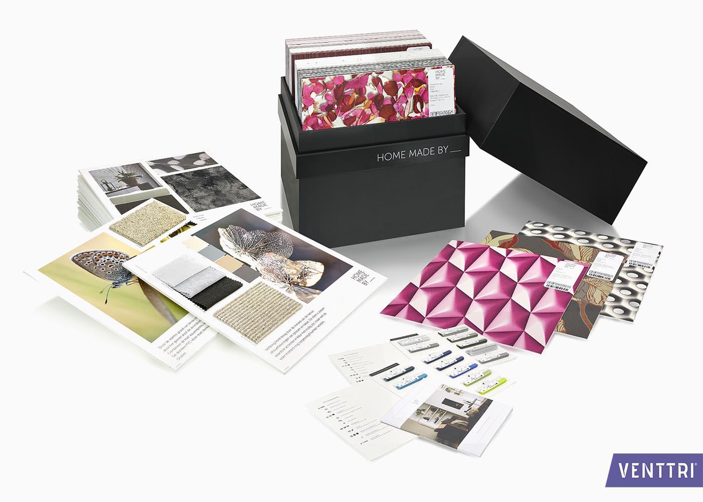 Robuuste collectiebox MDF 8
