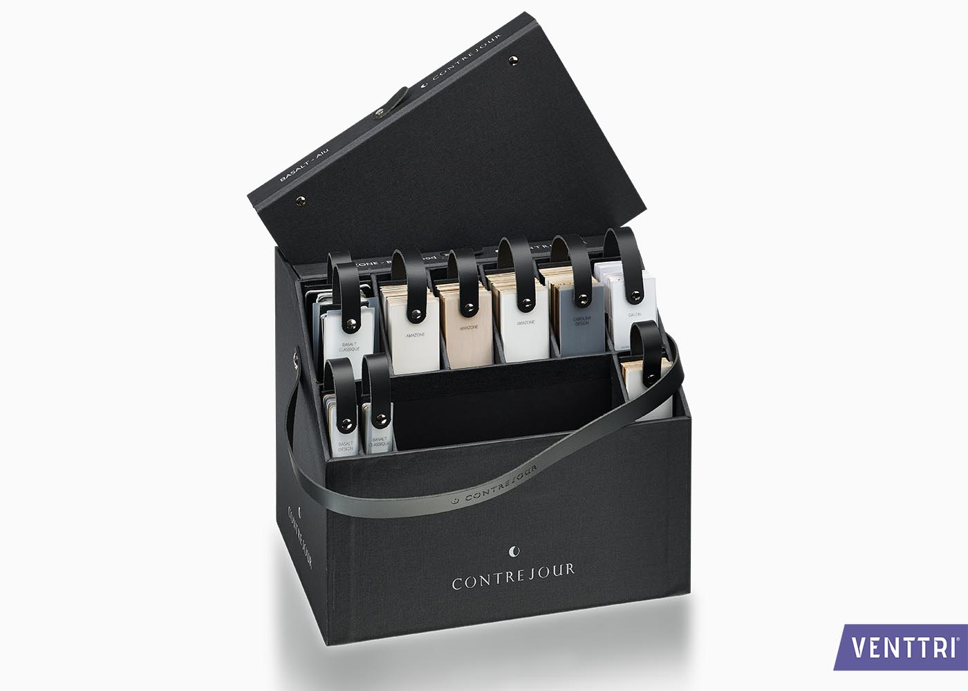 luxe presentatiebox met leren draagband 2