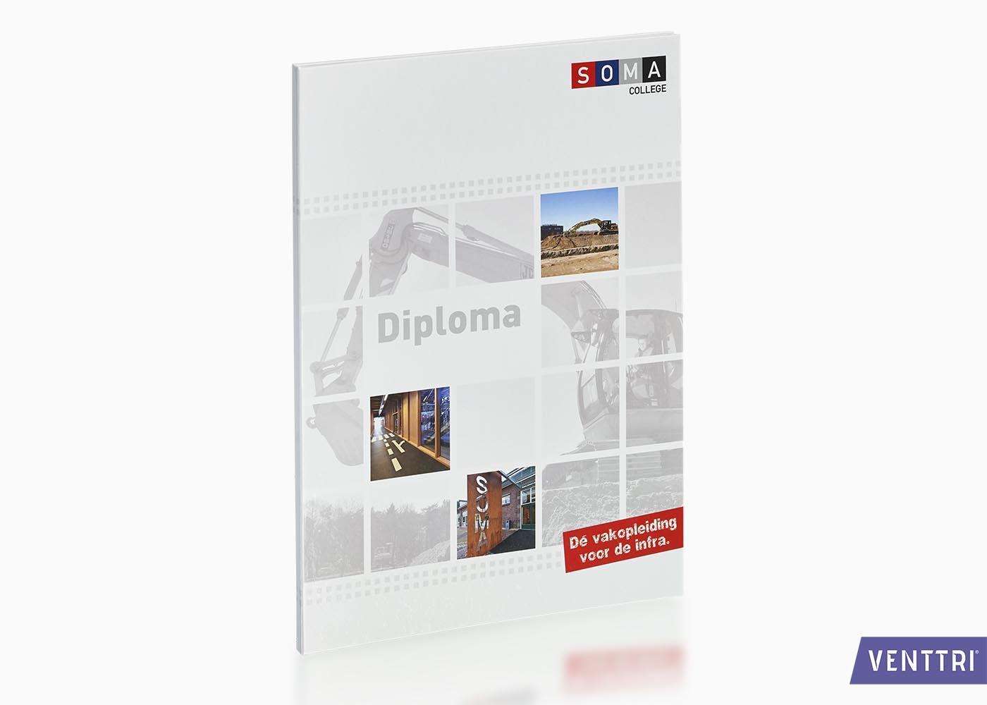 bedrukte diplomamappen