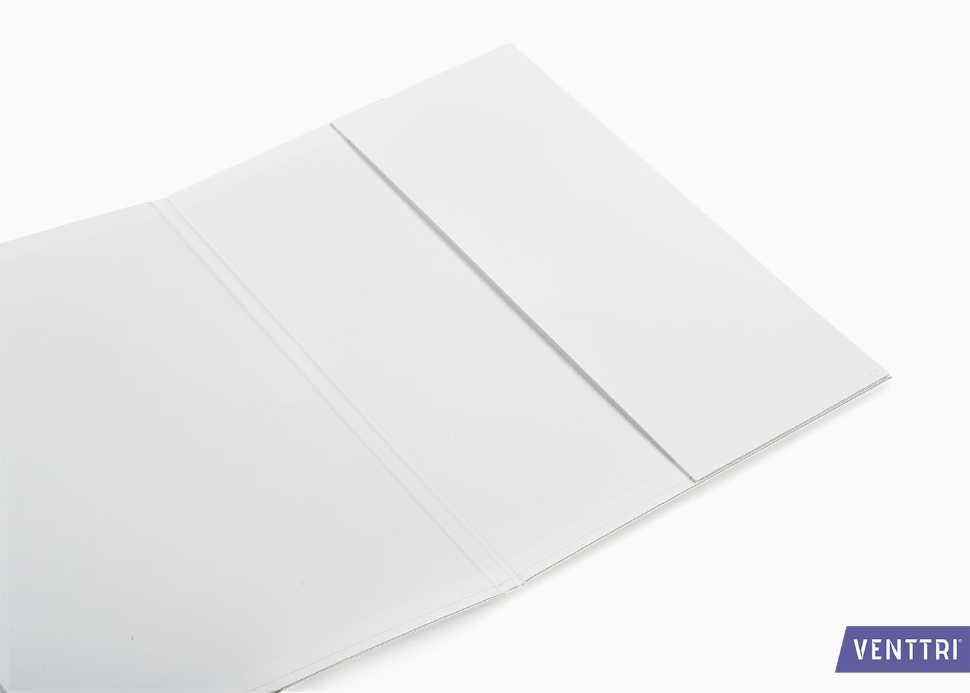Printed diploma folder